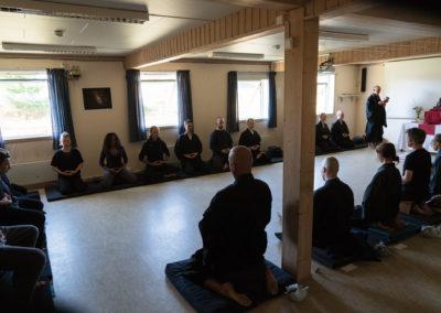Fra meditasjonsretrett