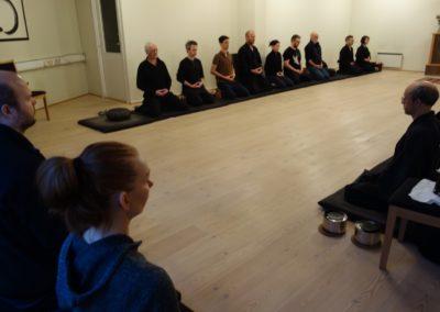 Meditasjon i Finzai zen senter