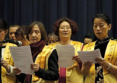Vesak- sangkor fra Buddha's Light International Association i Oslovesak 2015 blia buddhister