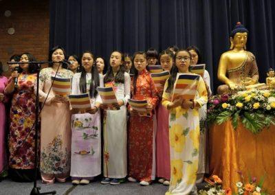 Vesak - sangkor fra Det vietnamesiske buddhistsamfunn
