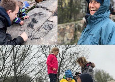 Feiring av fullmåne på Ola Narr i Oslo