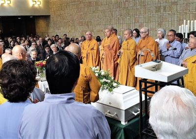 Buddhistisk bisettelse Det vietnamesiske buddhistsamfunn