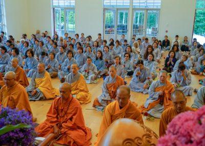 Fra hovedhallen i Lotus tempelet (Liên Hoa Đạo Tràng)