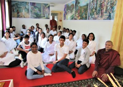 Samling i Oslo Buddhist Vihara