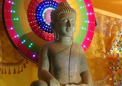 Khmer buddhistersenter i Lillesand - statue av Buddha