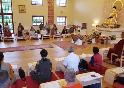 Feiring av Vesak på Karma Tashi Ling buddhistsenter