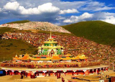 Medlemmer av Det norske Buddhadharma institutt feirer nyttår