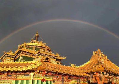 Fra  Larung Gar instituttet i Sechuan, Kina