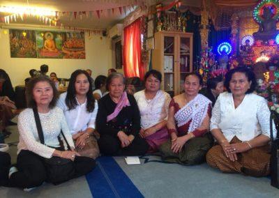Khmer buddhistersenter i Lillesand - medlemmer av foreningen