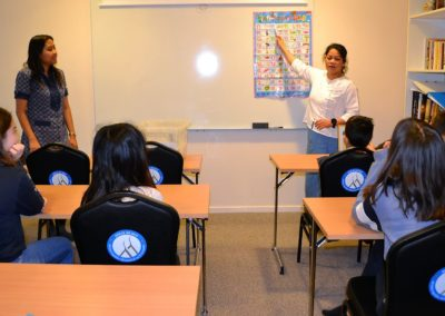 Undervisning i thai-språk i Wat Thai Norway