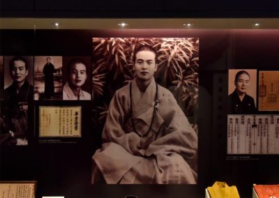 Bilde av mester Hsing Yun som ung munk