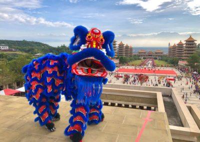 Fra Fo Guang Shan Buddha Museum i Kaohsiung, Taiwan