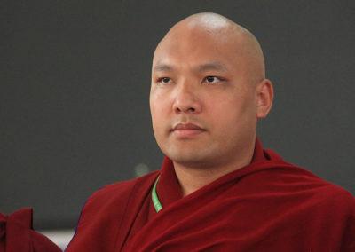 Den 17. Gyalwang Karmapa, tibetansk lama, overhode for Karma Kagyu-tradisjonen som Karma Tashi Ling buddhistsamfunn er tilsluttet