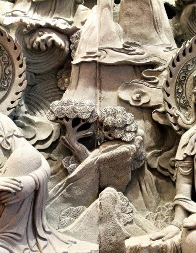 Detalj fra alteret til Quan Te Am
