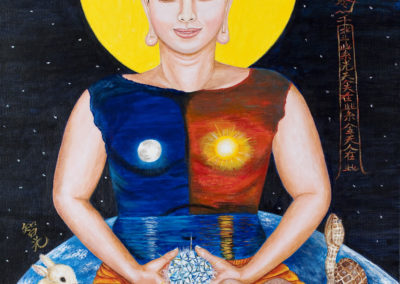Maleri av Dae Poep Sa Nim
