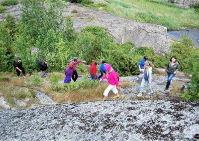 Fra sommer-retreat på Tjøme