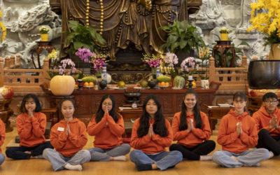Buddhistisk konfirmasjon i 2021