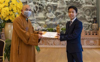 Buddhistisk konfirmasjon for første gang